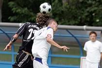 Z utkání Český Brod - Kladno B (0:2).