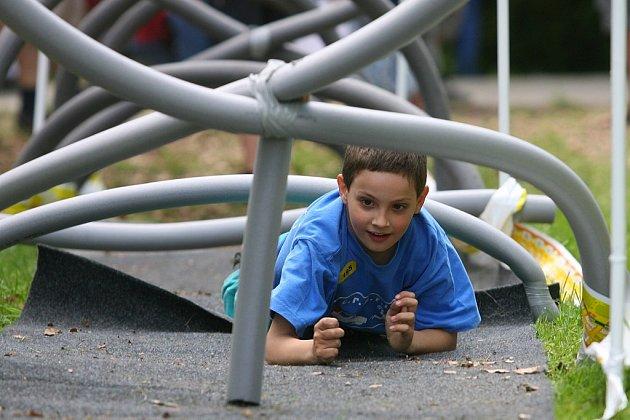 Oregon připravil pro děti odpoledne plné zábavy.