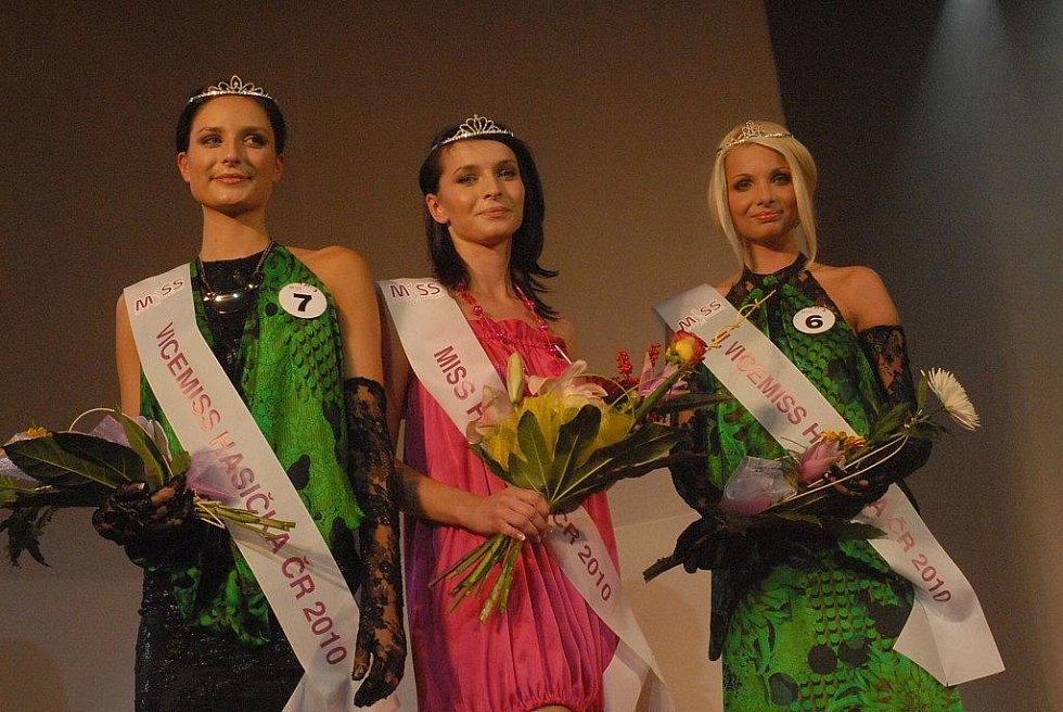 Vyhlášení Miss Hasička ČR 2010