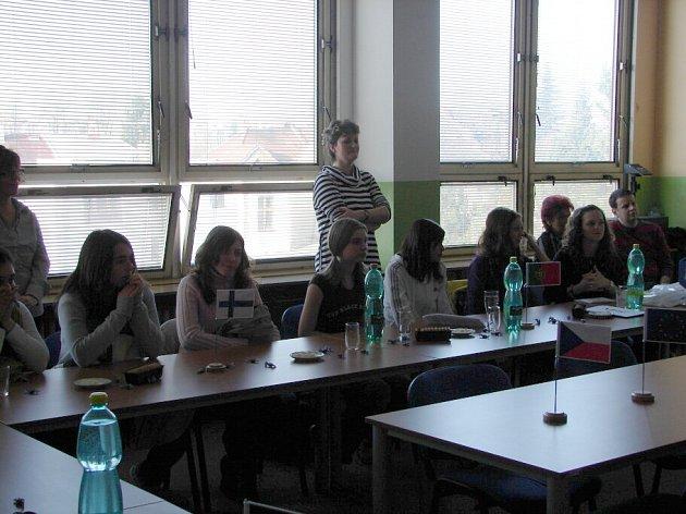 Žáci ze Španělska se podívali na 3. Základní školu. 31.3. 2009