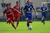 Z utkání Kolín - Pardubice B (1:1, PK 3:2).