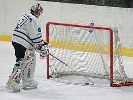 Z hokejového derby Kolín - Kutná Hora 1:4.