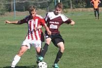Z utkání FK Kolín U17 - Žižkov (1:1, PK 4:5).