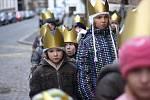 Po Kolíně chodili malí i velcí králové