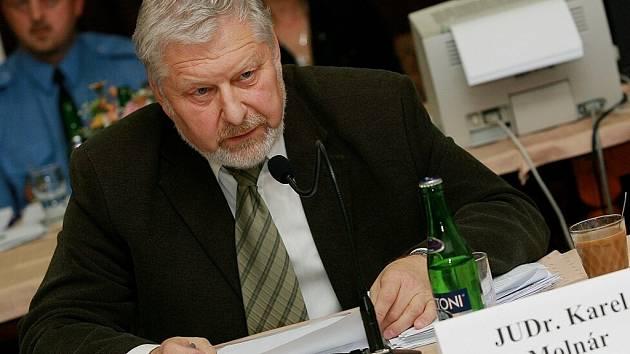 Zastupitel Kolína a Středočeského kraje Karel Molnár (ČSSD).