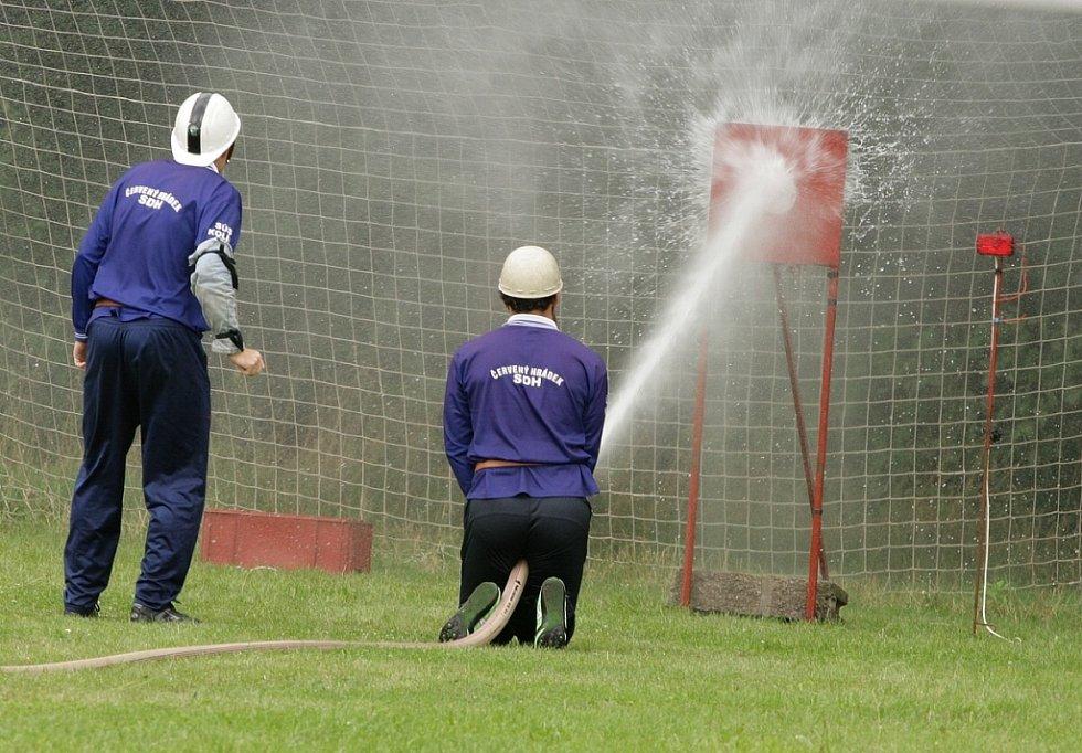 Čtvrté kolo hasičské soutěže, tentokrát z Konárovic