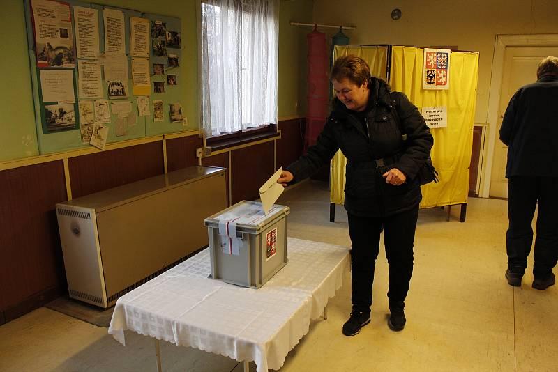 Volby ve Lstiboři v roce 2018.