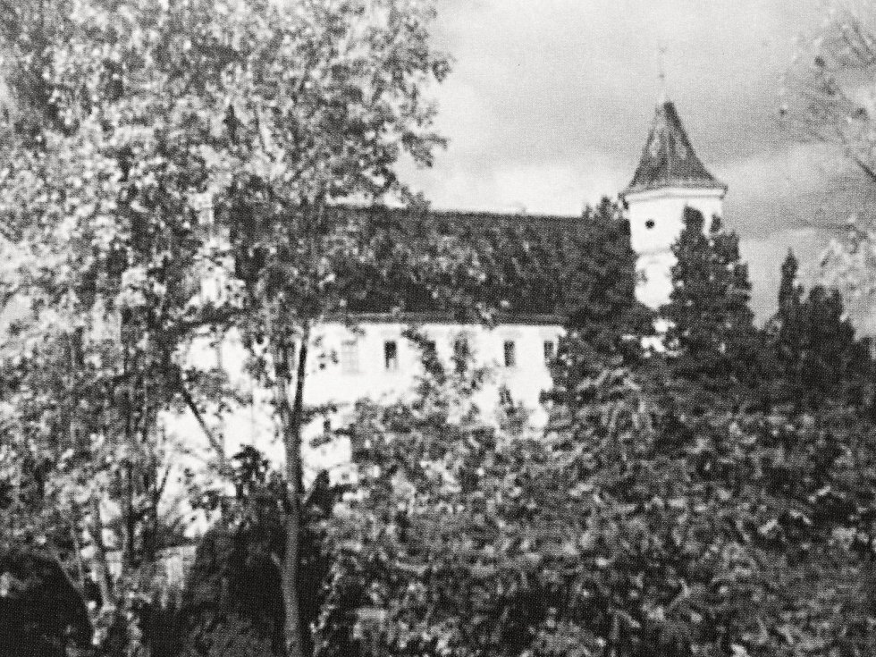 Radimský zámek.
