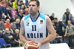 Kapitán kolínských basketbalistů David Machač.