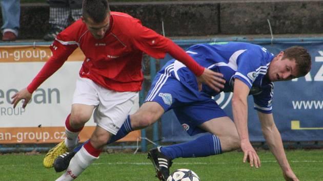 Z utkání FK Kolín - Kunice (2:0).