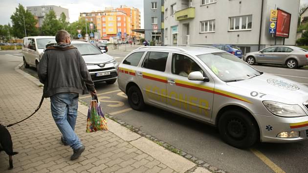 Náhlé úmrtí osoby v bytovém domě u takzvaného 'Malého kruháku' na Zálabí v Kolíně.