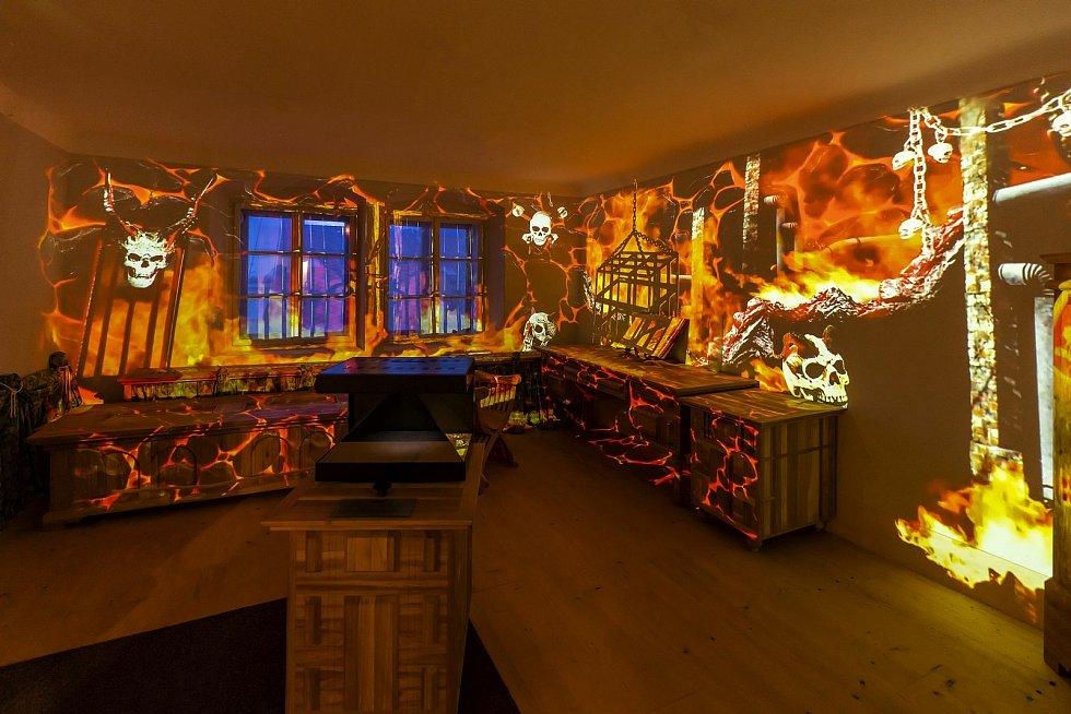 Stará škola - interaktivní expozice v areálu Bartolomějského návrší v Kolíně.