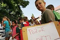 Dětský den na 5. Základní škole v Kolíně.