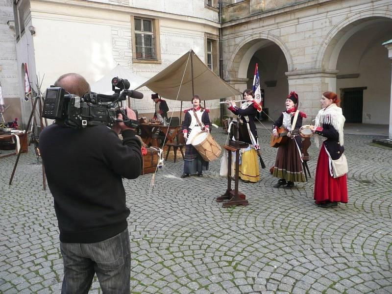 Páni z Kolína na brandýském zámku