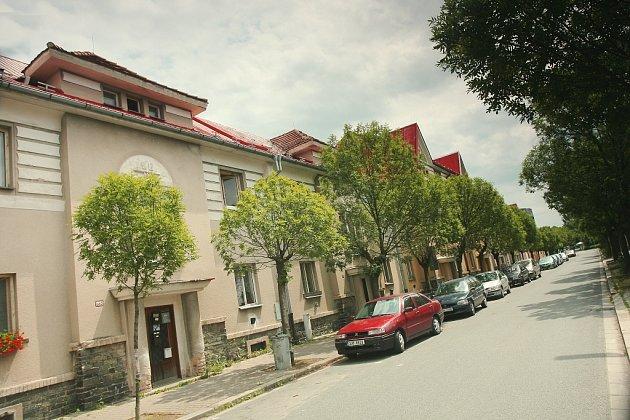 Bytové domy v ulici U Borku, ilustrační foto