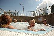 Vodní svět Kolín. 7. srpna 2009