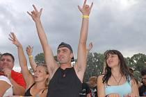 Rockový festival Barvy léta v Poděbradech