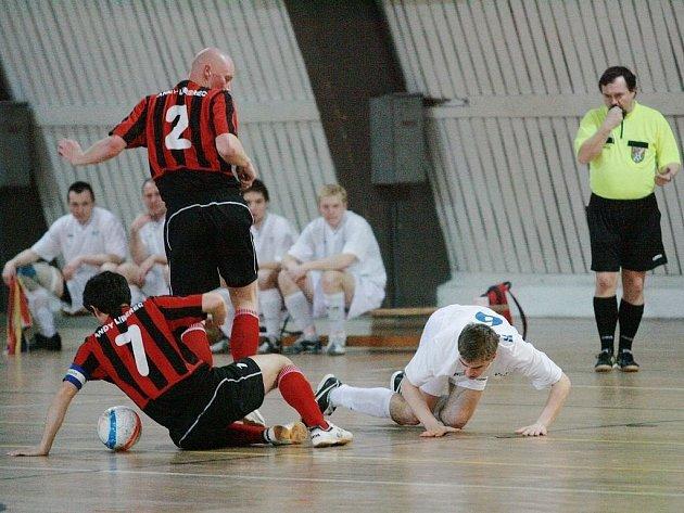 Z utkání SKP Kolín - Andy Liberec (7:8).