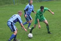 Z utkání FK Kolín B - Bečváry (6:5).