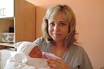 Alžběta Svobodová se rozplakala 13. února 2017 smírami 50 centimetrů a 3450 gramů. Maminka Ilona a tatínek Vít si ji odvezli do Třech Dvorů, kde se na ni těšil bráška Šimon (5,5).