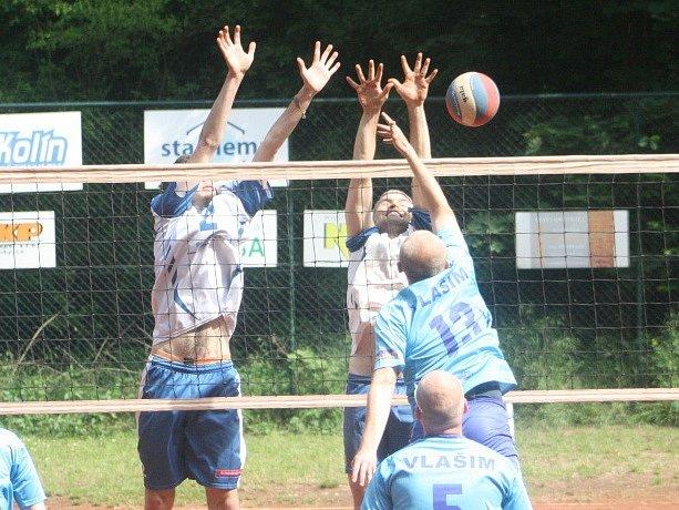 Z utkání Kolín B - Vlašim B (3:0).