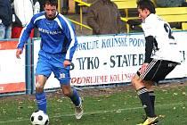 Z utkání FK Kolín - Ústí nad Orlicí (2:1).