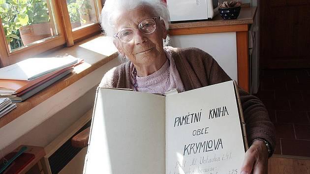Kronikářka Krymlova Zdeňka Karbůlková