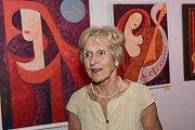 Hned na dvou místech vKolíně visí obrazy pašínského malíře Ády Lisého.