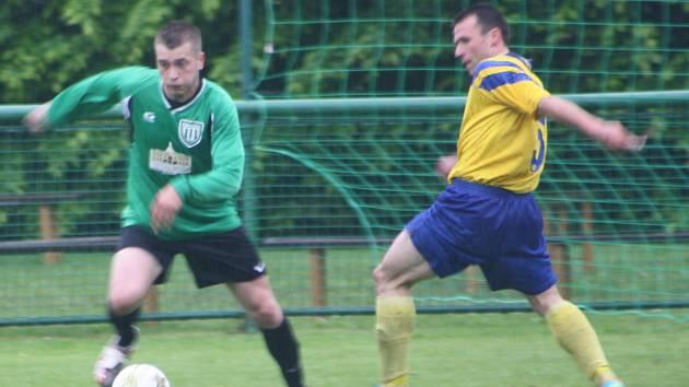 Z utkání Ratboř - Tuchoraz (3:1).