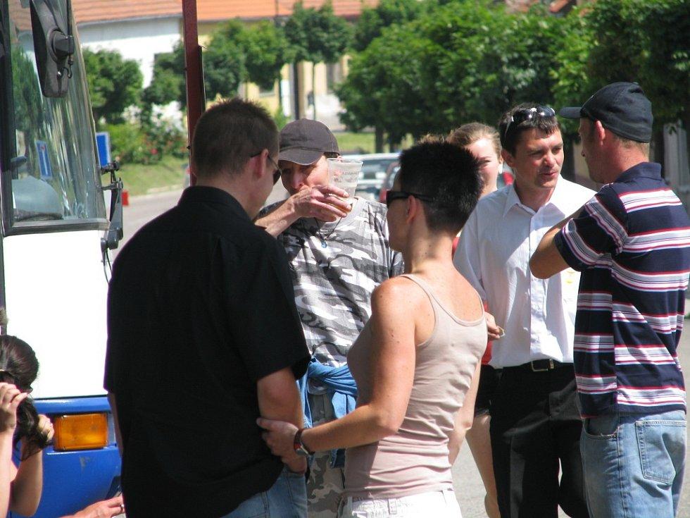 Ochutnávka Kmochova Kolína pro obyvatele Týnce nad Labem