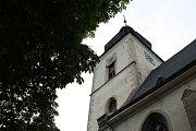 Noc kostelů 2017 kostel sv. Vavřince na Kaňku.