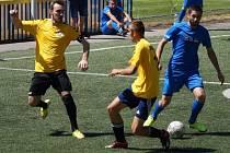 Z utkání PV za 20 - FK CzeKraine (3:6).