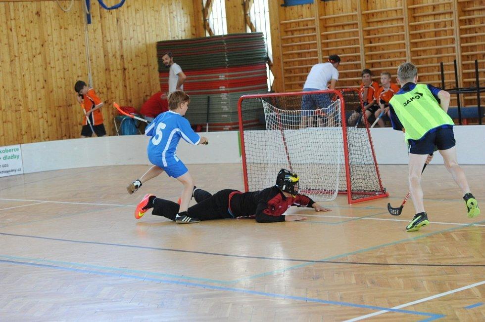 Kolínské sportovní dny 2015 - florbal.