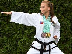 Šestinásobná medailistka z MS Martina Kopecká.