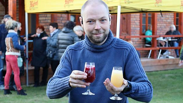 Z Radimského vinobraní 2021.
