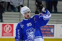 Hokejista Milan Valášek nastartoval Kozly svou gólovou velejízdou v základní části, kdy jednoznačně vyhrál kanadské bodování.