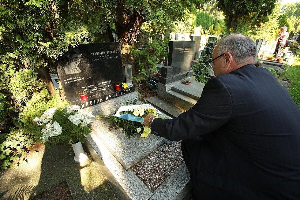 Starosta uctil památku obětí srpna 1968
