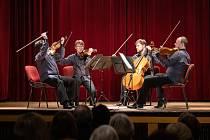 Doležalovo kvarteto zahrálo v Českém Brodě.