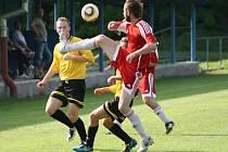 Z utkání FK Kolín B - Bečváry