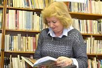Eva Pluháčková z kolínské knihovny