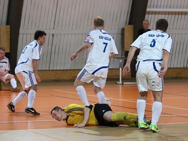 Z utkání SKP Kolín - Brandýsek (4:2).