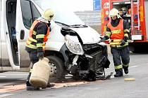 Nehoda na křižovatce nad hasičárnou