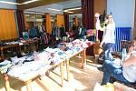 Burza dětského oblečení v Kolíně.
