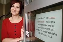 Lucie Černíková, aktivizační pracovnice Domova pro seniory v Kolíně.