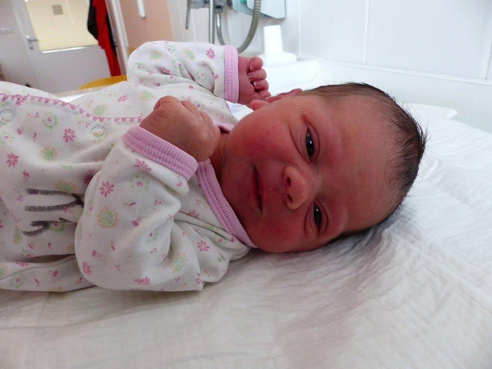 Amálka Šantrůčková se narodila 3. února 2019, vážila 2675 g a měřila 45 cm.. Domů do Křečhoře pojede společně s maminkou Alenou a tatínkem Josefem.
