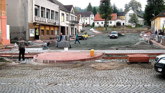Skalice bude mít nové náměstí