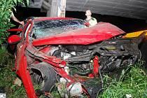 Nehoda mezi Tuchorazí a Českým Brodem. 21. srpna 2010
