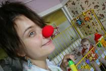 Z poslední návštěvy zdravotních klaunů v kolínské nemocnici