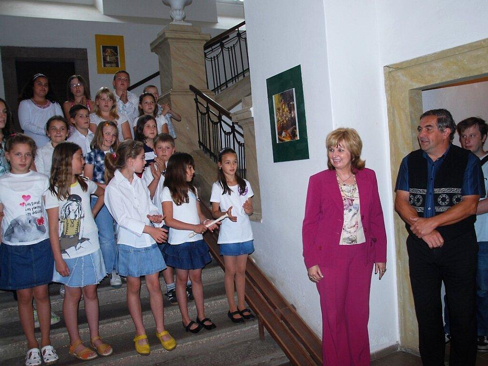 Českobrodští školáci vystavují své zajímavé výtvory