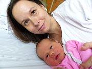Nikol Táboříková se narodila 4.1.2019 s mírami 3260 g a 49 cm. V Kamhajku se na ni těší bráška Samuel (2) a rodiče Lenka a Aleš.